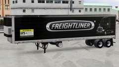 La peau Freightliner frigorifique semi-remorque