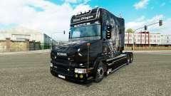 Silver Dragon de la peau pour Scania T camion
