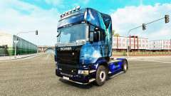 Blue Angel skin für den Scania truck
