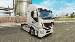 L'Aluminium brossé de la peau pour Iveco camion