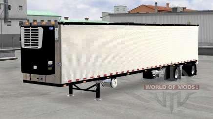 Verchromt reefer trailer v1.4 für American Truck Simulator