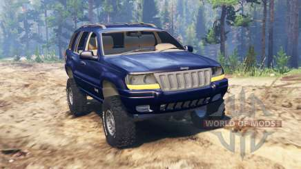 Jeep Grand Cherokee (WJ) pour Spin Tires