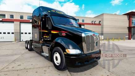 Skins, die auf der Zugmaschine Peterbilt 387 für American Truck Simulator