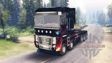 Renault Magnum 10x10 pour Spin Tires
