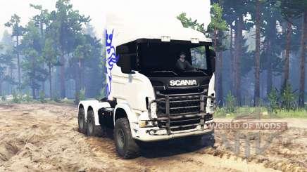 Scania R730 6x6 für Spin Tires
