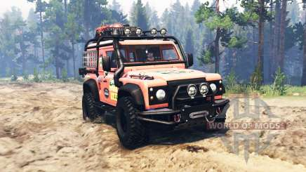 Land Rover Defender 90 pour Spin Tires
