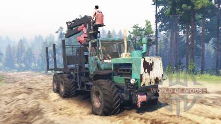 T-150K 6x6 pour Spin Tires