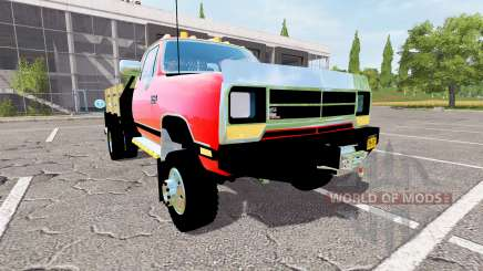 Dodge Power Ram flatbed pour Farming Simulator 2017