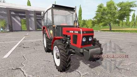 Zetor 7245 v2.0 für Farming Simulator 2017