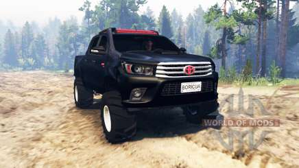 Toyota Hilux Double Cab 2016 für Spin Tires