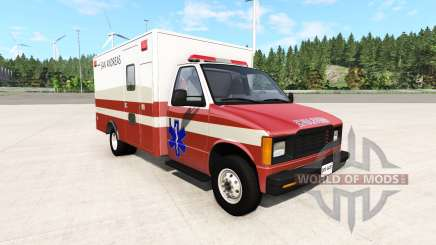Gavril H-Series San Andreas Ambulance v0.1 pour BeamNG Drive