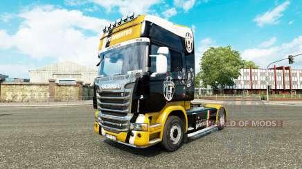 Juventus skin für Scania-LKW für Euro Truck Simulator 2