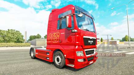 Haut-V8-LKW-MANN für Euro Truck Simulator 2