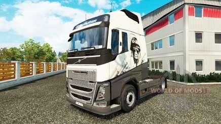 Cool Lion skin für Volvo-LKW für Euro Truck Simulator 2