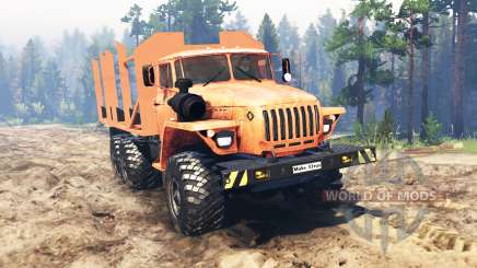 Ural-4320-10 pour Spin Tires
