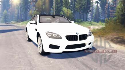 BMW M6 (F13) v2.0 pour Spin Tires