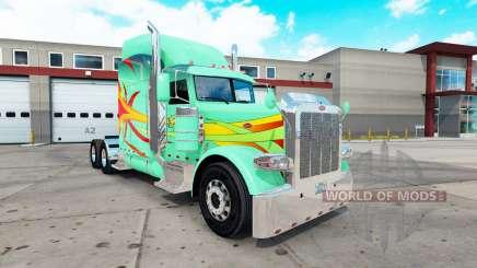 Hoffman peau pour le camion Peterbilt 389 pour American Truck Simulator