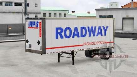 Peaux pour les tout-métal remorque pour American Truck Simulator
