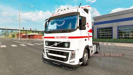 Volvo FH13 Sovtransavto pour Euro Truck Simulator 2