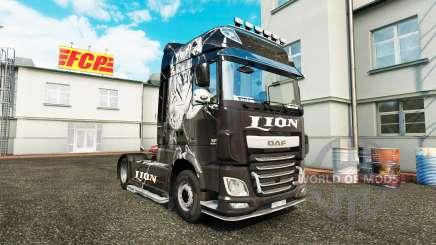 Lion skin für DAF-LKW für Euro Truck Simulator 2