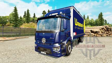 Mercedes-Benz Antos tandem pour Euro Truck Simulator 2