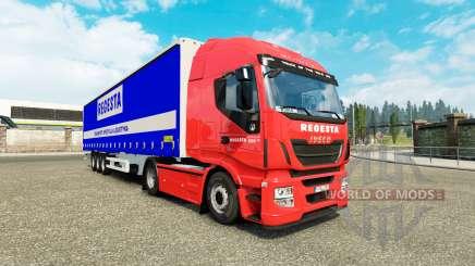 Haut Regesta für Iveco LKW für Euro Truck Simulator 2