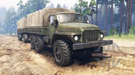 Ural-375Д für Spin Tires