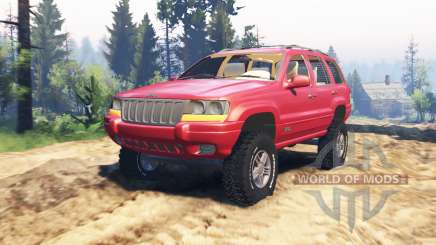 Jeep Grand Cherokee (WJ) v2.0 für Spin Tires