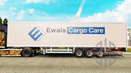 Rideau semi-remorque Wileton Pologne pour Euro Truck Simulator 2