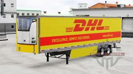 Haut DHL für reefer-Auflieger für American Truck Simulator