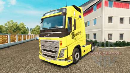 Bundaberg skin für Volvo-LKW für Euro Truck Simulator 2