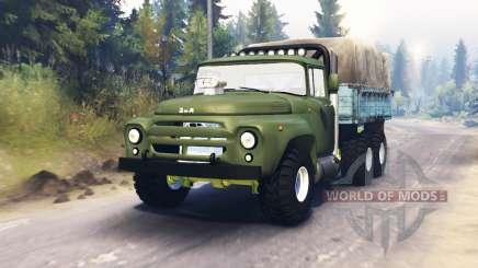 ZIL-130 6x6 für Spin Tires