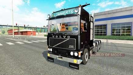 Volvo F10 8x4 PBA heavy pour Euro Truck Simulator 2