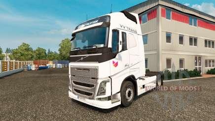 VV-Trans skin für Volvo-LKW für Euro Truck Simulator 2