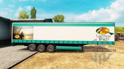 La peau Bass Pro Shops pour semi-remorque pour Euro Truck Simulator 2