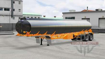 Kraftstoff-Auflieger Polar für American Truck Simulator