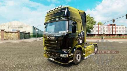 Boston Bruins-skin für den Scania truck für Euro Truck Simulator 2
