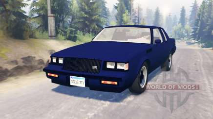 Buick GNX 1987 pour Spin Tires