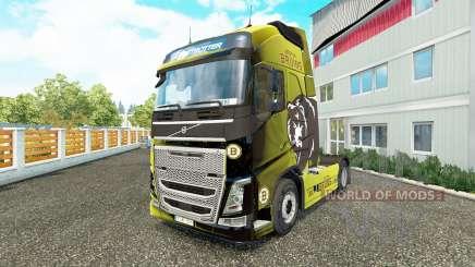 Boston Bruins-skin für den Volvo truck für Euro Truck Simulator 2