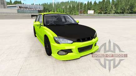 Hirochi Sunburst electric v3.2 für BeamNG Drive
