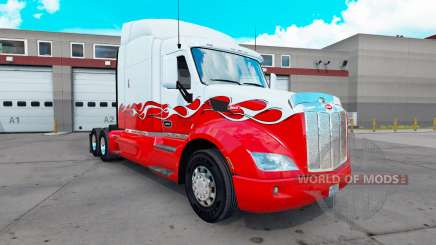 Haut-Pick-Up, Traktor, Peterbilt 579 für American Truck Simulator