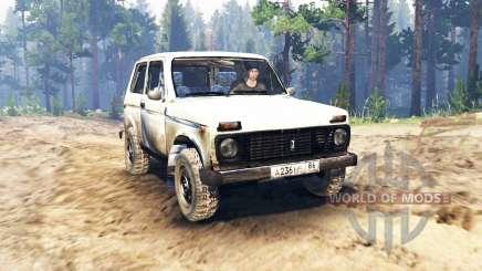 VAZ-2121 Niva für Spin Tires