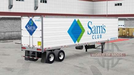 Echte Firmenlogos für Anhänger v2.0 für American Truck Simulator