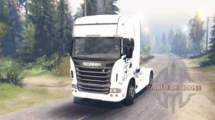 Scania R730 2009 4x4 für Spin Tires