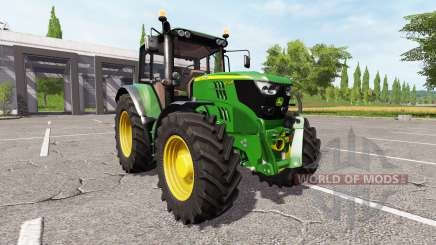 John Deere 6155M v2.0 pour Farming Simulator 2017