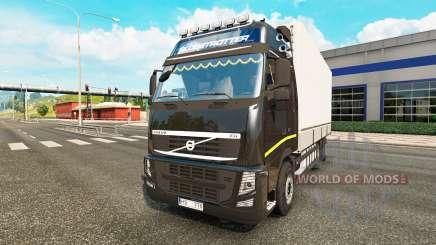 Volvo FH13 Tandem v2.1 pour Euro Truck Simulator 2