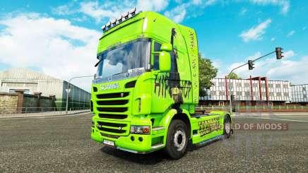 Haut-Hip-Hop auf der Zugmaschine Scania für Euro Truck Simulator 2
