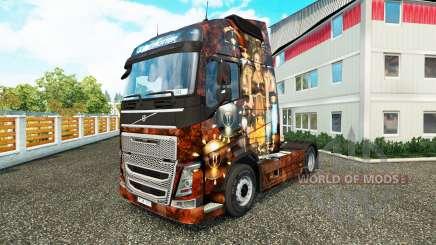 Sexy Steampunk-skin für den Volvo truck für Euro Truck Simulator 2