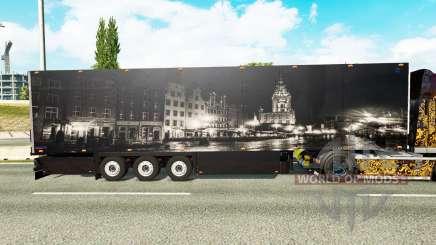 Semi-Remorque Schmitz Cargobull Ville pour Euro Truck Simulator 2
