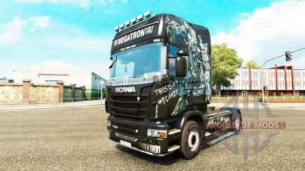 Megatron Haut für Scania-LKW für Euro Truck Simulator 2